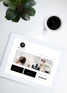 CUSTOM WEBSITE Design for Wordpress Squarespace Wix by KellyBrito