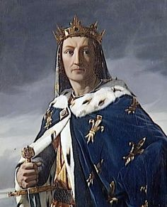 Louis VIII, the Lion - King of France. He invaded England in 1216 trying to take the English throne. He was successful until King John of England, and then the barons supported Henry III of England. He died from dysentery in My Great Grandfather Luis Ix, St Louis, Hugues Capet, Lion, French Royalty, Carolingian, Empire Romain, King John, Religion Catolica