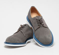 Fancy - Mark McNairy Grey Suede Derby