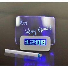 Horloge Réveil Alarme Digital LED & message - Achat / Vente réveil sans radio - Cadeaux de Noël Cdiscount