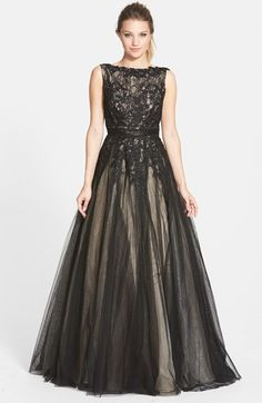 Mac Duggal Lace Ballgown (Juniors) available at  Nordstrom Lace Ball Gowns 4f6c860e8736