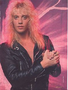 Jani Lane, 80s Hair Bands, Glam Metal, Rock Groups, Heavy Metal Bands, 80s Music, Rock Legends, Very Long Hair, We The People