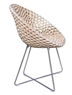 Flohr. (n.d.). Bona chair. [Online]. Available from: http://www.xn--flhrdesign-fcb.de/kollektion.html [Accessed: 29 January 2013] via Trendhunter: http://www.trendhunter.com/trends/flohr-design. Sakhalin knotweed.   Based in Bergrade, Germany, Flohr Design has tweaked the knotweed by embedding the shoots with a mixture of cold glue and wood flour. The result is a perforated texture and pattern.