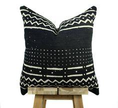 African Mudcloth Pillow Cover Decorative Throw Pillow