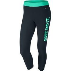 Nike Women's Kapow Graphic Relay Capris - just got these in all black, so comfy!