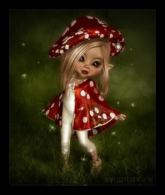 LittleDesign: Miss Mushroom