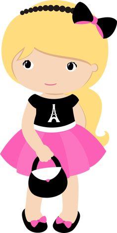 - View all images at PNG folder Avatar Cartoon, Cartoon Kids, Girl Cartoon, Cute Cartoon, Homemade Birthday Decorations, Playroom Printables, I Love Paris, Paris Paris, Kawaii Cross Stitch