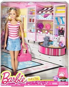 Barbie Doll with Puppy Accessory *** Continue to the product at the image link.