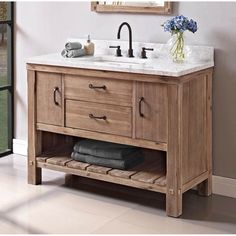 Fairmont Designs is described in two words; Express your creativity with Fairmont Designs bathroom vanities and bath furniture ensembles. The distinctive families of bath furniture from Fairmont Designs come in styles for every bath Rustic Bathroom Vanities, Bathroom Sink Vanity, Rustic Bathrooms, Bathroom Furniture, Bathroom Interior, Small Bathroom, Bathroom Storage, Bathroom Ideas, Nature Bathroom