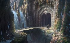 Lord of the Rings: War in the North concept art by Bethesda Softworks artist Ilya Nazarov of Washington, DC.