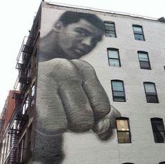 "Muhammad Ali. ""Rest in pieces."""