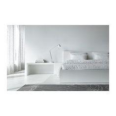 MALM Bed frame, high, white - King - - - IKEA