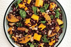Black Rice Salad with Mango and Peanuts recipe