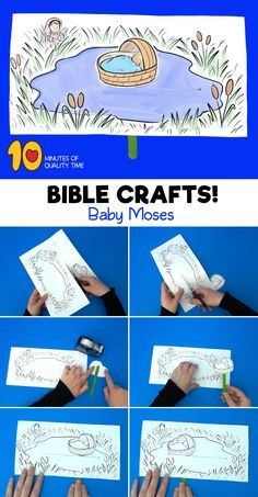 Michaels Arts And Crafts Coupon Bible Activities For Kids, Bible Crafts For Kids, Sunday School Activities, Preschool Bible, Sunday School Lessons, Sunday School Crafts, Baby Moses Crafts, Moses Bible Crafts, Toddler Sunday School
