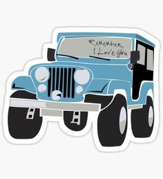 Teen Wolf stickers featuring millions of original designs created by independent artists. Stickers Cool, Jeep Stickers, Bubble Stickers, Phone Stickers, Printable Stickers, Planner Stickers, Snapchat Stickers, Blue Jeep, Teen Wolf Dylan