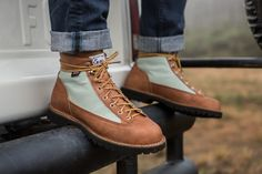 Danner x Beckel Canvas Collaboration Boots — if money were no object. LOVE.