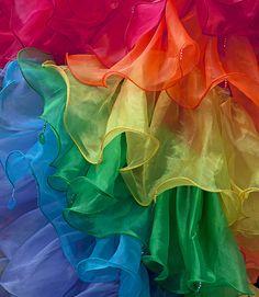 """Rainbow Dress!"" by CliveDodd, via Flickr"