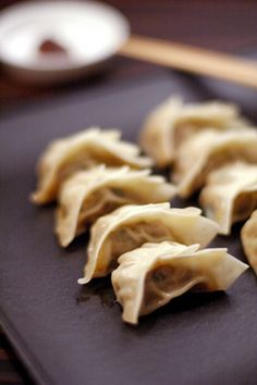 Gyoza. Best food on the planet!