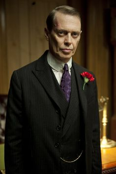Steve Buscemi as Nucky Thompson in Boardwalk Empire