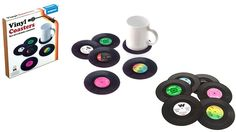 50% off Set of 6 Vinyl Coasters ($8.5 instead of $17)