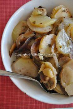 Insalata di patate alla tedesca slow cooker
