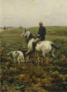 Year of the horse meet with Polish artist realist Kowalski Alfred (Alfred Kowalski-Wierusz 1849-1915). Discussion on LiveInternet - Russian ...