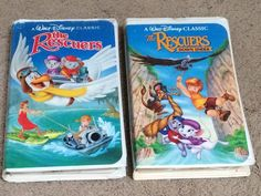 Black Diamond The Rescuers and The Rescuers Down Under VHS Walt Disney Classic | eBay