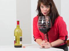 Gigantisches Weinglas