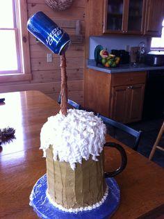 Joe's 30th Birthday cake