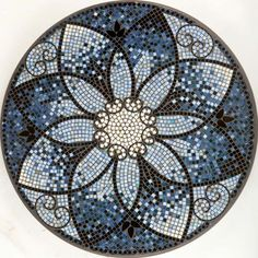 KNF Amalfi Mosaic Table