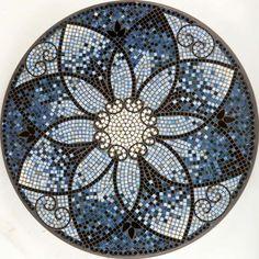 KNF Amalfi Mosaic Table