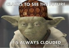 Funny picture: Scumbag Yoda