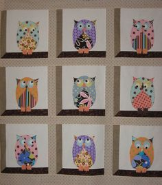 It's Owl About Me pattern at Sew Its Finished