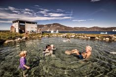 Hot springs are abundant in South Greenland, but the island of Uunartoq is home to the only hot springs in the country that are warm enough . Greenland Vs Iceland, Amazing Places On Earth, Boat Tours, Hot Springs, Day Trips, Arctic, Grand Canyon, The Good Place, Island