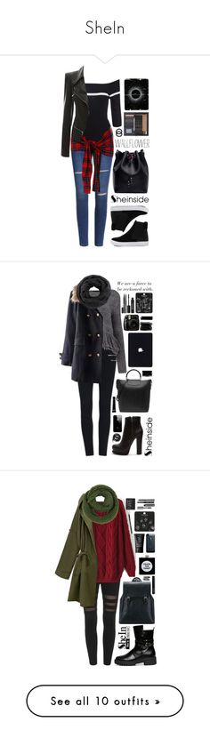 """""""SheIn"""" by scarlett-morwenna ❤ liked on Polyvore featuring Wallflower, John Lewis, vintage, Rachel Comey, Forever 21, Zadig & Voltaire, Narciso Rodriguez, Topshop, Stila and Urbanears"""