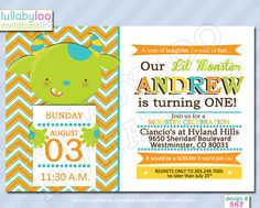 Monster Birthday Invitations 587   12 PRINTED by LullabyLoo, $18.00 #monster #birthday invitations #party invitations #birthday party #monster birthday #boys #1st birthday Man Birthday, 1st Birthday Parties, Monster Birthday Invitations, Party Invitations, Baby Shower, Party Planning, Laughter, Handmade Gifts, Printed