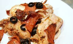 Slow Cooker Pepperoni and Chicken | Skinny Mom | Tips for Moms | Fitness | Food | Fashion | Family