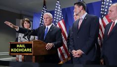 """Ryancare: MEDICAL INDUSTRIAL COMPLEX - posted by Lame Cherry  on March 7, 2017  """"So it is 8 years and two months of Paul Ryan and Big Koch suckers like Rob Portman, and what the repeal and replace of Obamacare is released is Ryan Rationed DEBT.  OK so this is for President Trump as Mike Pence and Reince Priebus have betrayed him crawling up the rectal exam of Paul Ryan's conspiracy against President Trump for the Medical Industrial Complex."""" READ MORE.. http://lamecherry.blogspot.com/"""