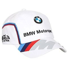 BMW Motorsport Team Hat 2016. BMW Motorsport replica cap with team logo on front and PUMA cat logo on brim....