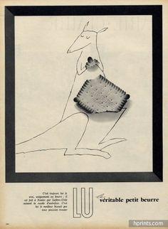 LU (Lefèvre-Utile) 1956 Kangaroo Tomi Ungerer