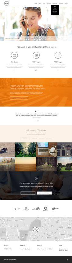 Valiza - Corporate Design PSD Template #html5templates #html5templates2014 #html5css3 #responsivetemplates