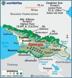 Country of Georgia -  Asia.