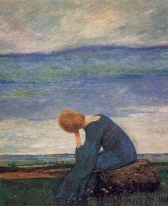 23silence: Heinrich Vogeler (German,1872-1942) -Träumerei, c. 1900