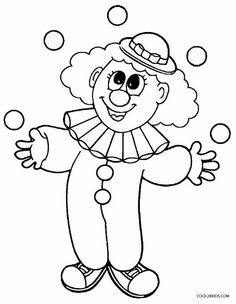 Clown Coloring Pages For Preschoolers Printable Clown Coloring Pages For Kids Clown Coloring Pages Free Printable Coloring Page Circus Printable Clown Coloring Pages For Kids Unique Coloring Pages, Coloring Pages To Print, Free Printable Coloring Pages, Coloring For Kids, Coloring Pages For Kids, Coloring Sheets, Coloring Books, Carnival Theme Crafts, Circus Crafts