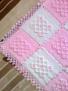 Şık bebe battaniyesi