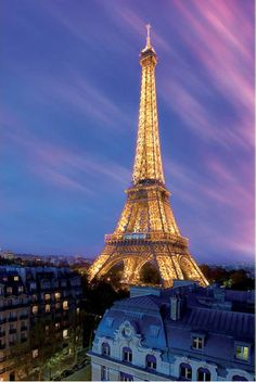 Paris - Eiffel Tower by Dawn
