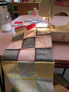 How to quilt goes over all the steps and supplies in detail- actually makes it seem possible