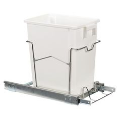"Household Essentials 16"" Sliding Trash Can"