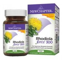 New Chapter Rhodiola Force 300 30 Vege Caps