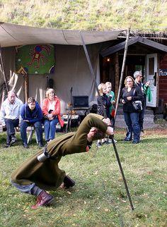 "Historical game ""Kliva under pinn"" Like a true Viking by Steffe, via Flickr"
